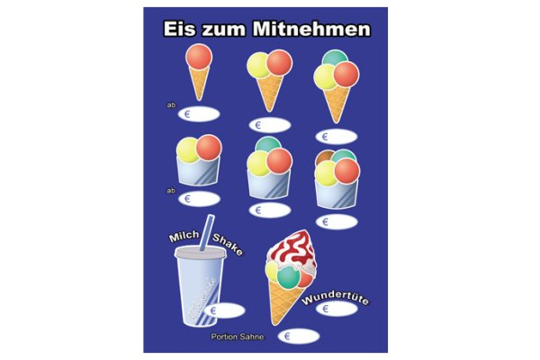 Zum Mitnehmen - Poster A1