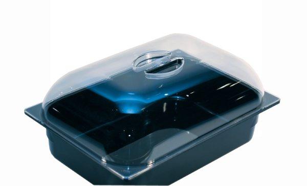 Polycarbonat Kuppeldeckel klar 360x250