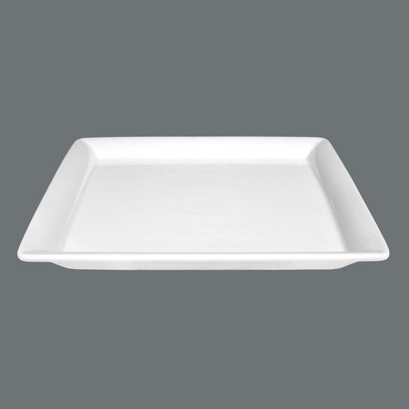 Buffet Gourmet Platte flach 25x25 cm Serie: