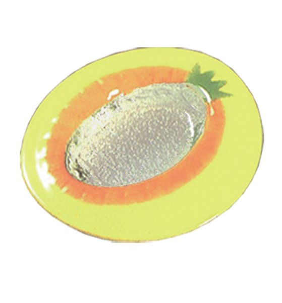 Eisteller Fruit 23 cm. gelb