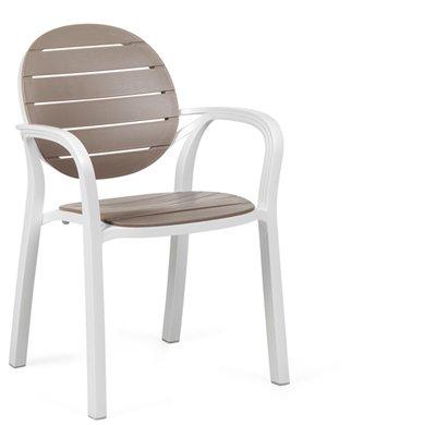 Stuhl Palma mit Armlehne div. Farben