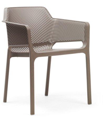 Stuhl Net mit Armlehne versch. Farben