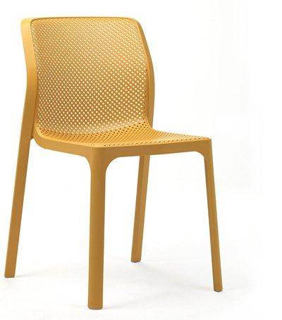 Stuhl Bit ohne Armlehne versch. Farben