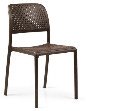 Stuhl Bora (Löcher) ohne Armlehne div. Farben